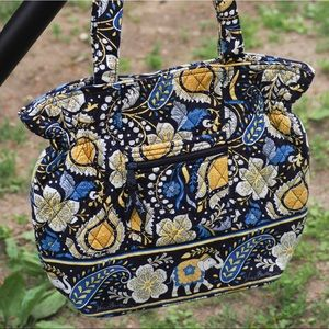 VGUC Vera Bradley Laura Bag in Ellie Blue